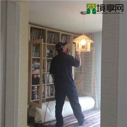 北京市通州区疃里村雅颂居除甲醛空气净化案例