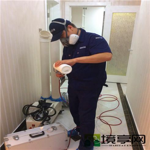 北京朝阳区甘露园芳箐园老客户新装修除甲醛空气净化案例