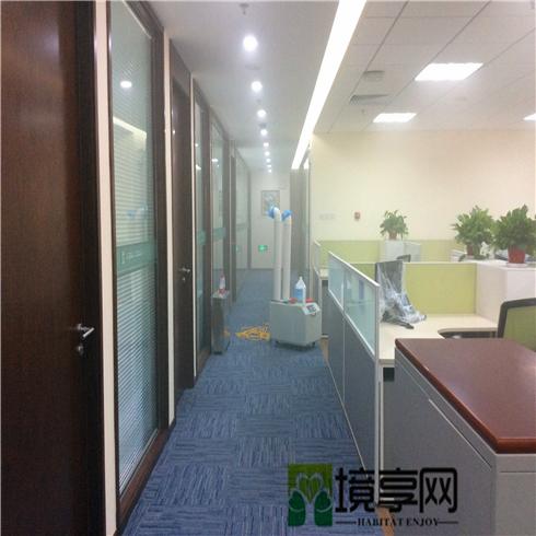 国企办公楼新装修除甲醛空气净化案例