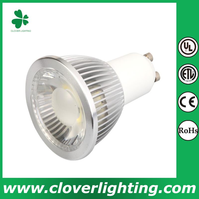 5W 38 Degree Short Neck GU10 MR16 COB LED Spot Light