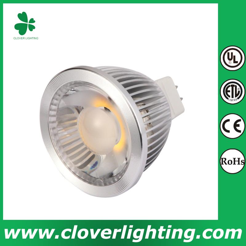 5W 38 Degree GU5.3 MR16 COB LED Spot Light