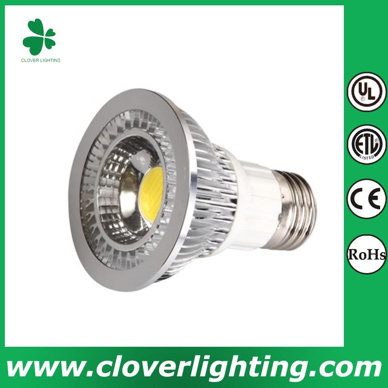 6W 80 Degree E27 PAR20 COB LED Spot Light