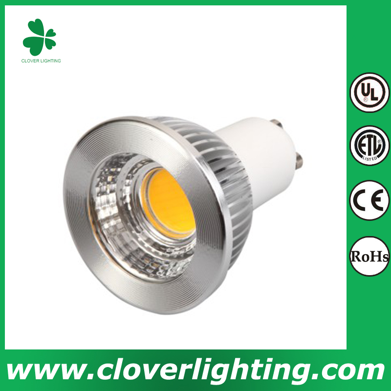 6W 80 Degree Long Neck GU10 MR16 COB LED Spot Light
