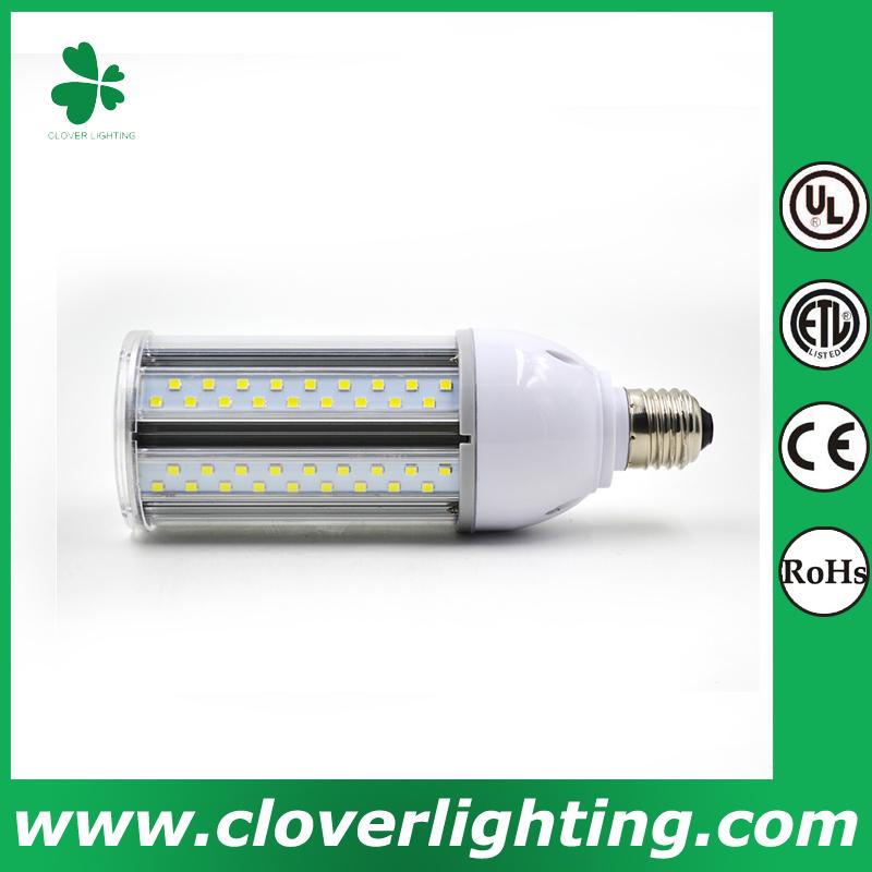 20W High quality high power ip64 waterproof e40 e27 led corn street light shenzhen clover lighting