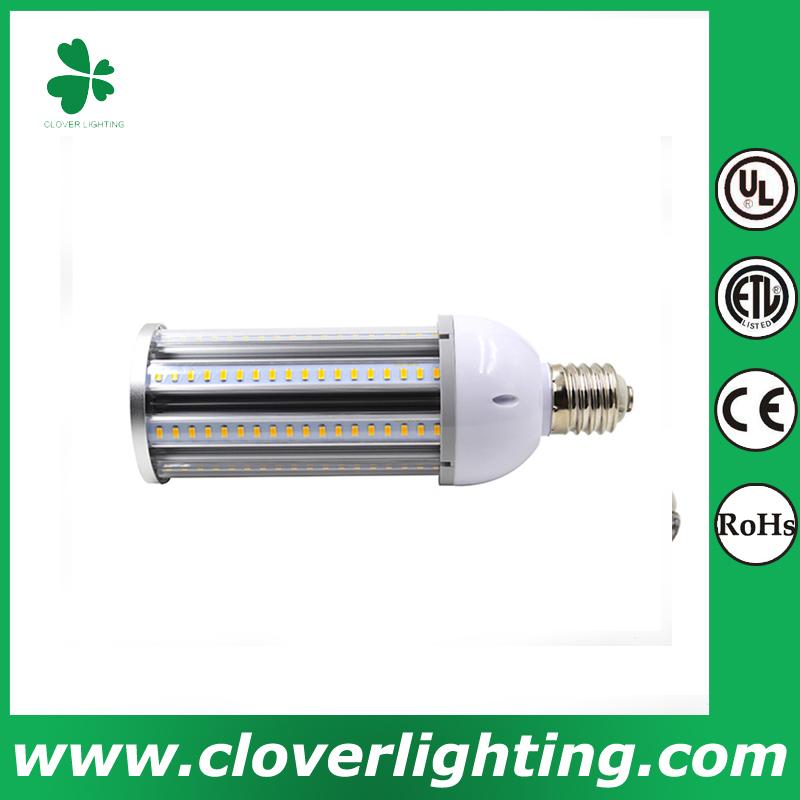 27W CE RoHS IP64 waterproof high power ledcorn light shenzhen clover lighting