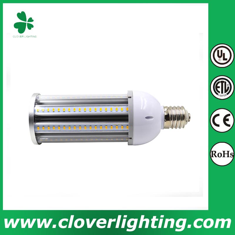 35W High lumen led street light IP64 waterproof smd \2835 led bulb corn shenzhen clover lighting