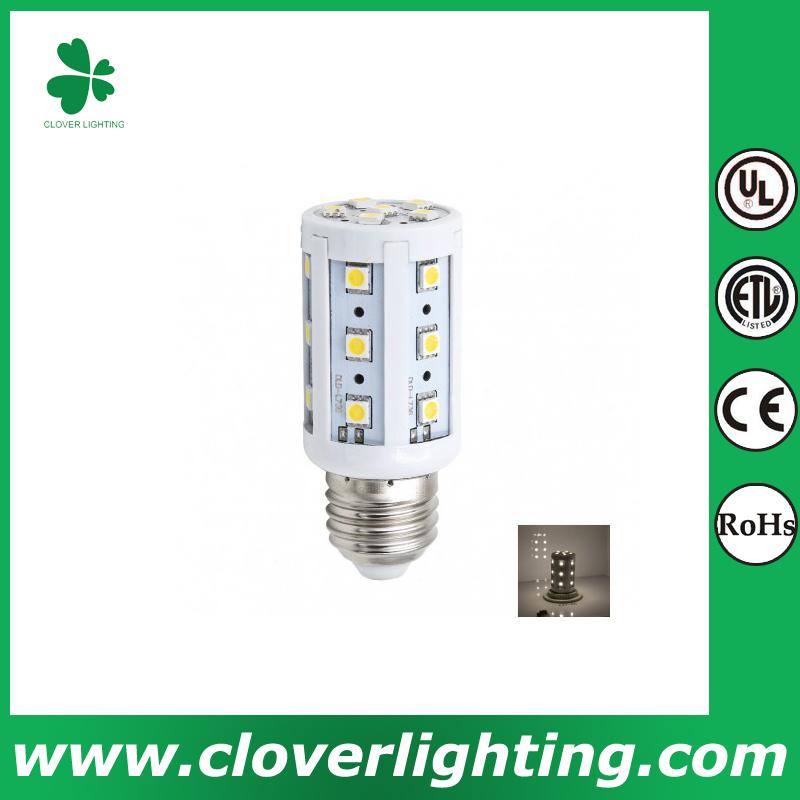 3w SMD2835 LED energy saving bulb LED bulb 360 degree LED corn light Shenzhen Clover Lighting