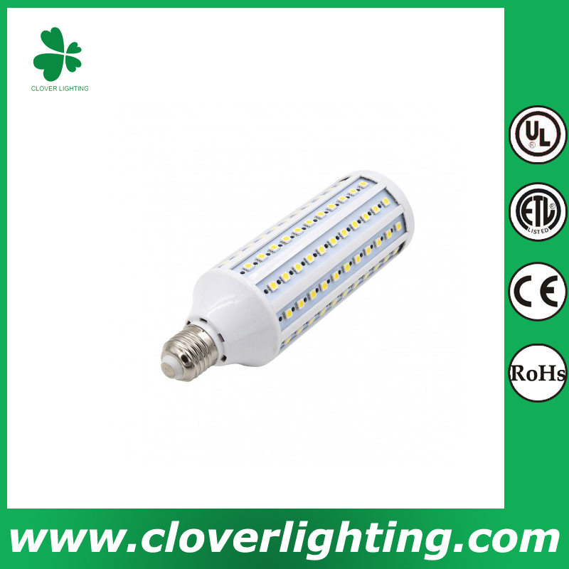25W high quality warm white and pure white dimmable led corn light e27 smd 2835 Shenzhen Clover Lighting