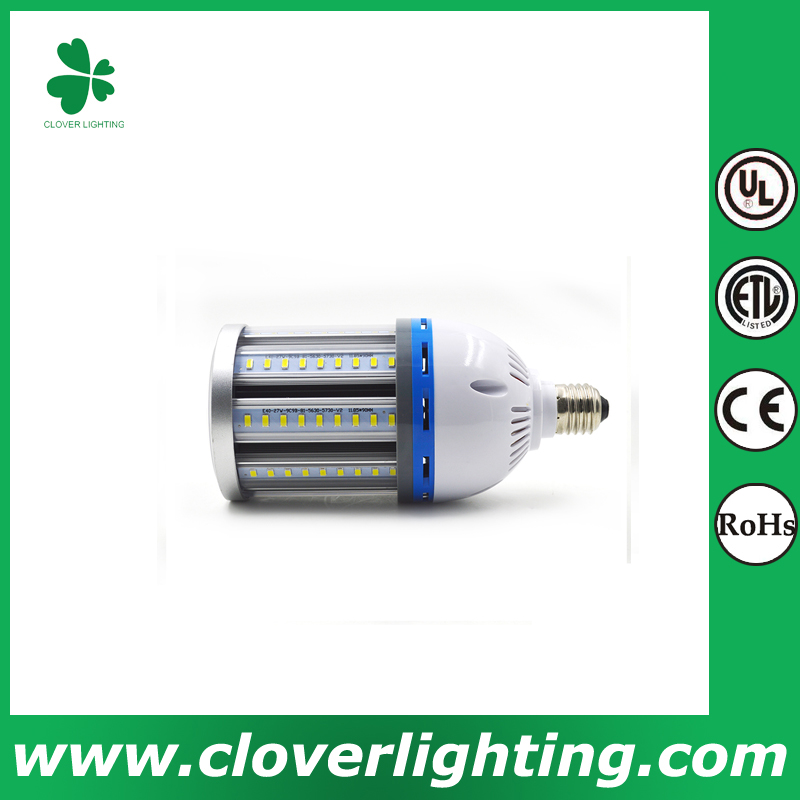 80W high quality warm white and pure white dimmable led corn light e27 smd 5730 Shenzhen Clover Lighting