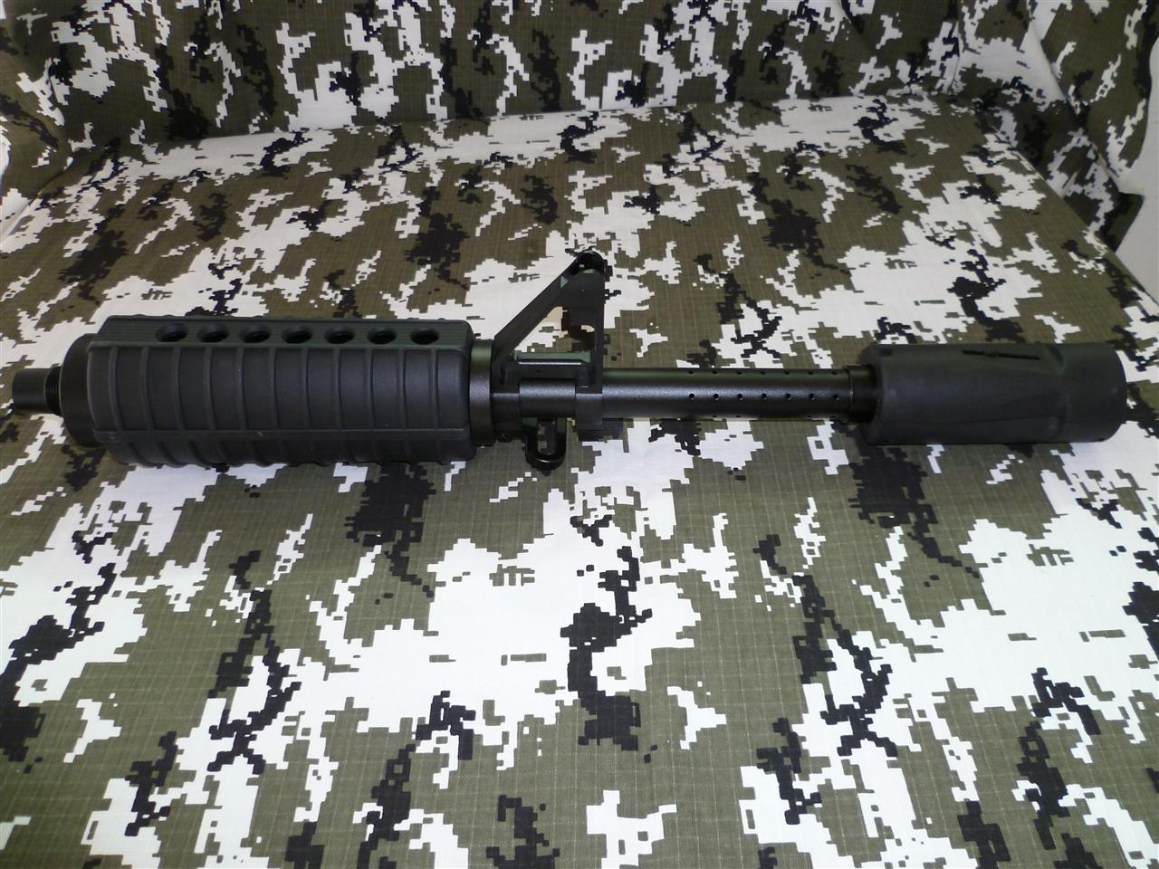 Camo M16 Barrel and Apex