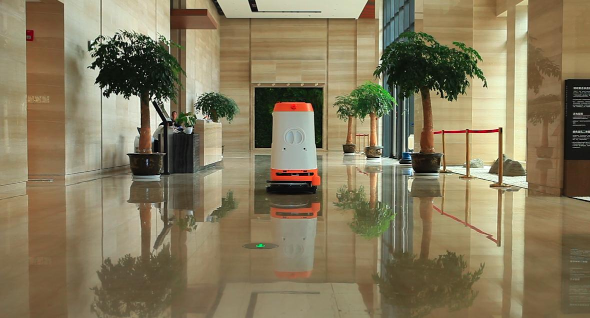 iScrubbot M1智能无人驾驶洗地车