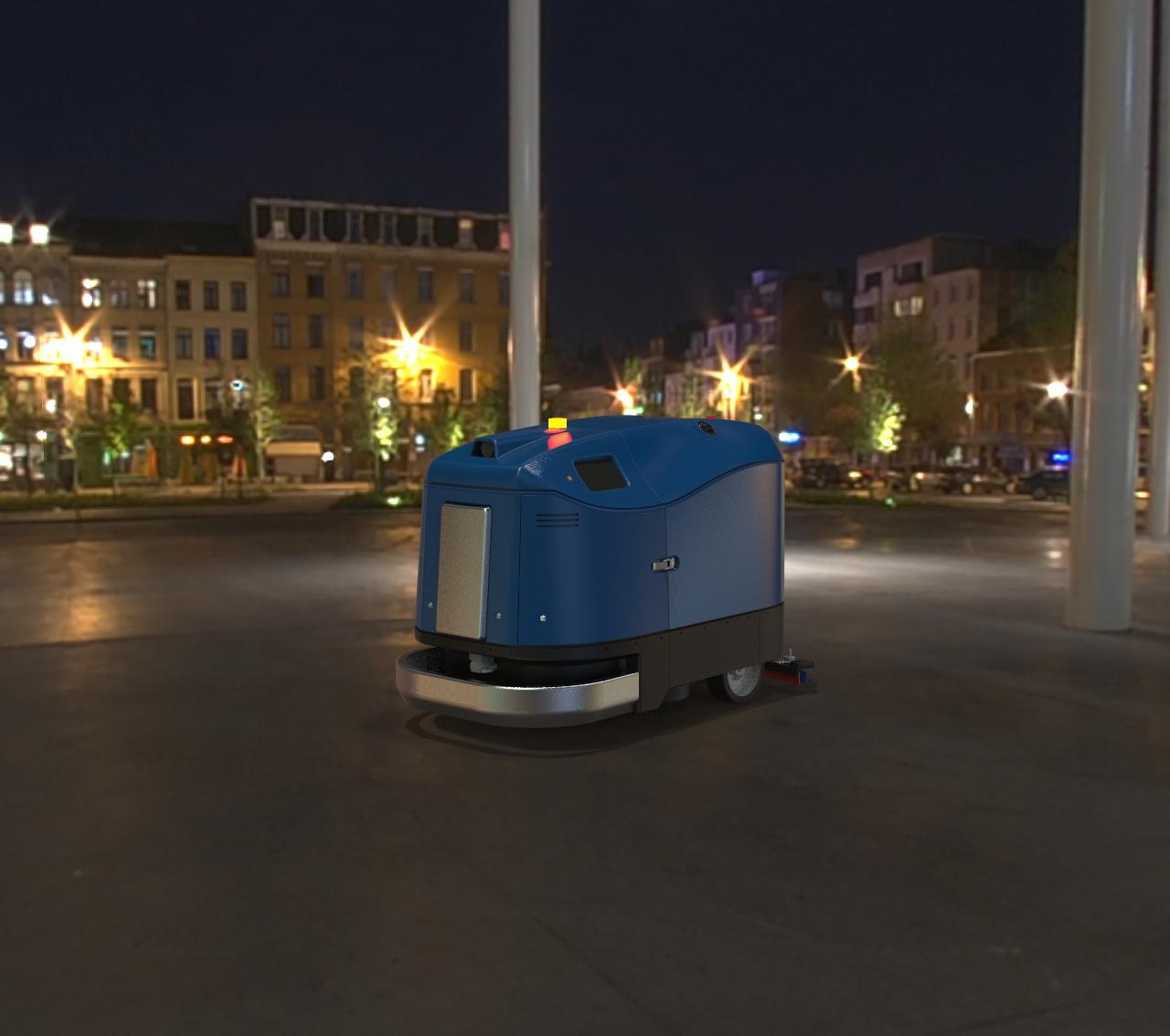 大型商業地面清潔機器人