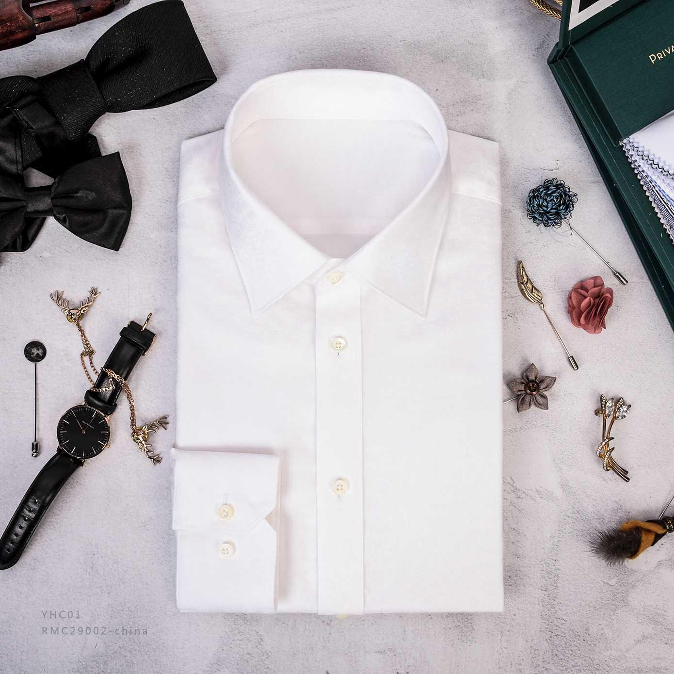 经典白衬衫