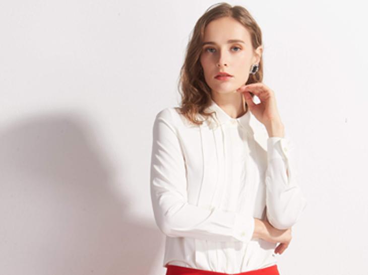 定做女式白衬衫