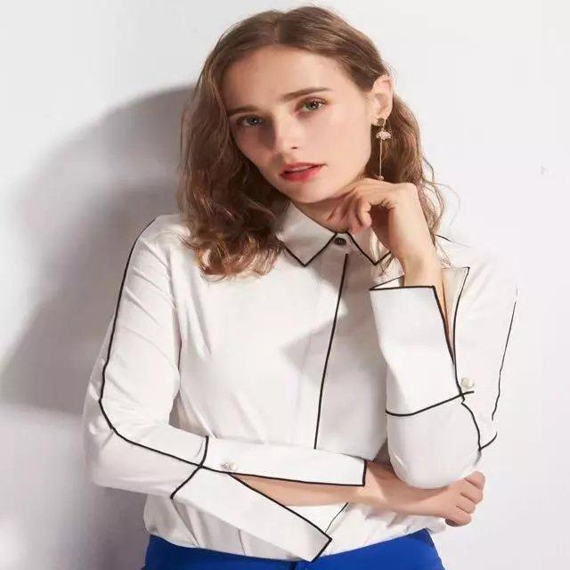 时尚雪纺女衬衫