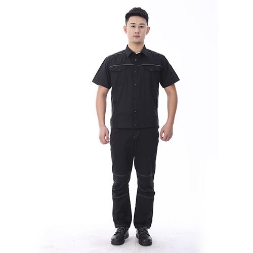 夏季短袖工作服款式001