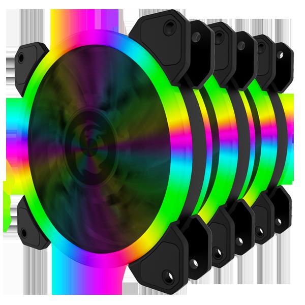 琉璃-彩色风扇