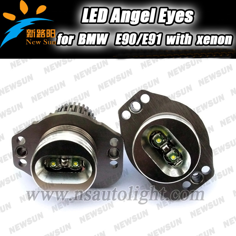 Bmw Z4 Warning Lights: Super Bright 10W High Power LED BMW Angel Eyes Ring Marker