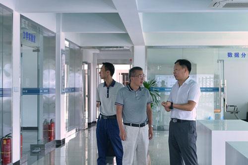 铜陵市民促局局长陈利耘率队莅临新能集团调研指导