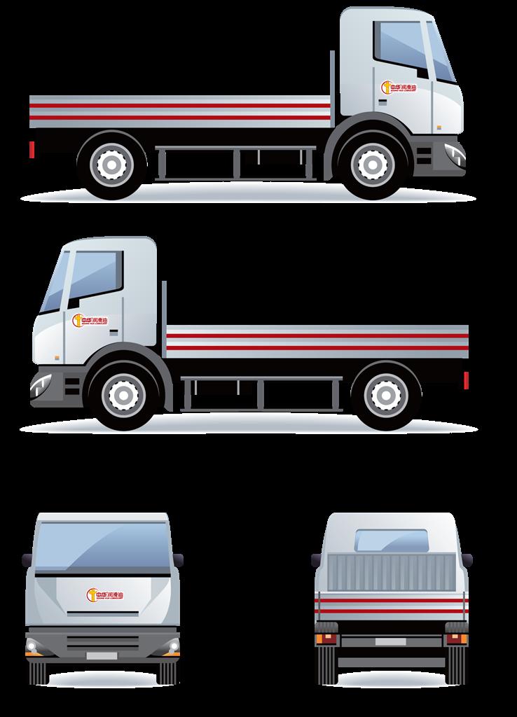 载货汽车车贴方案