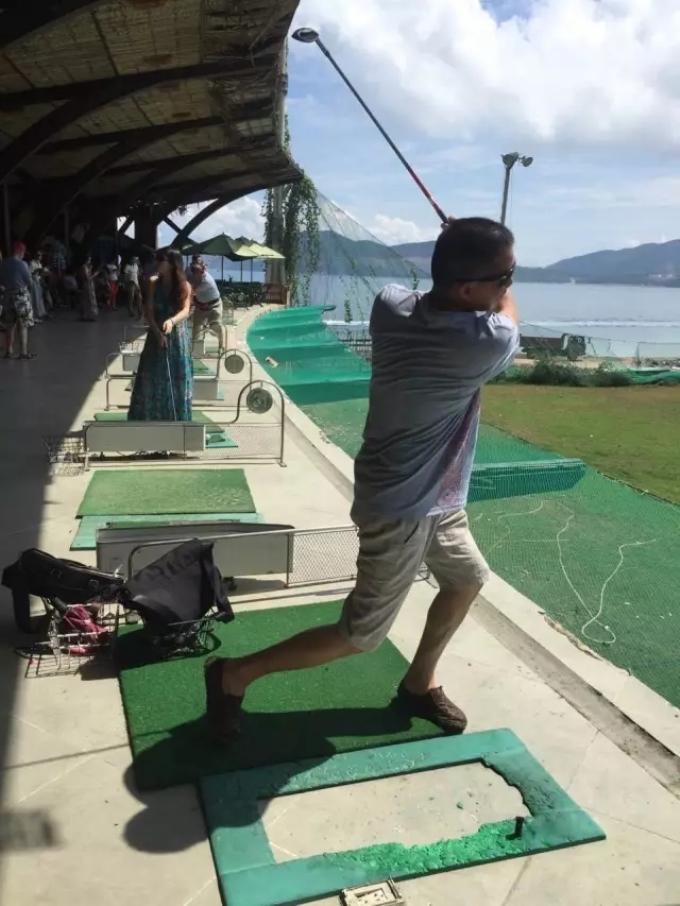 芽庄体验高尔夫,中华人的休闲之旅