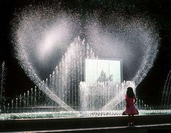 海鸥鸽式成套喷泉