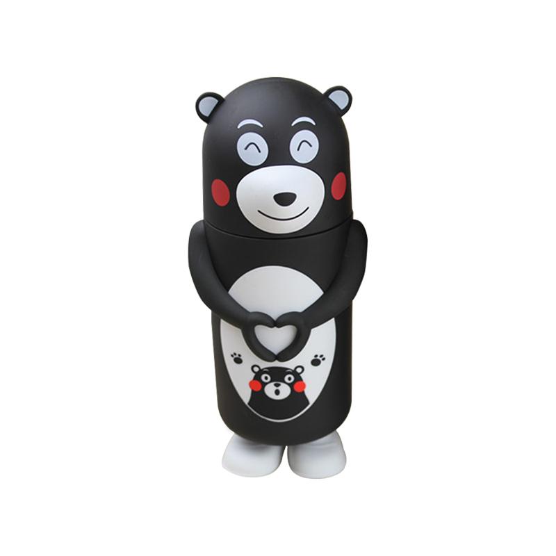 小黑熊保温杯