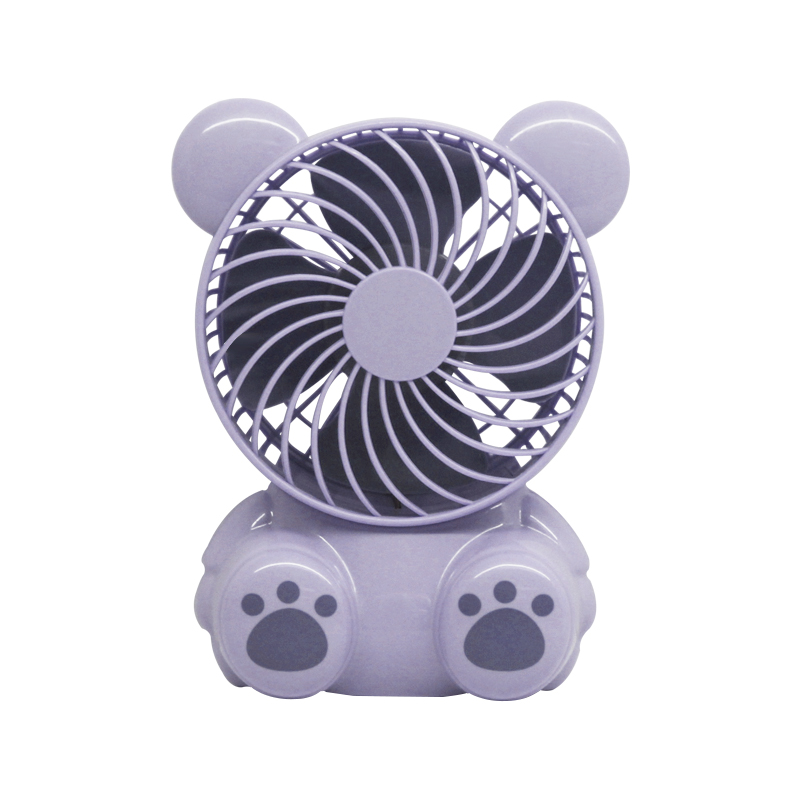 Picture of adorable bear mini fan