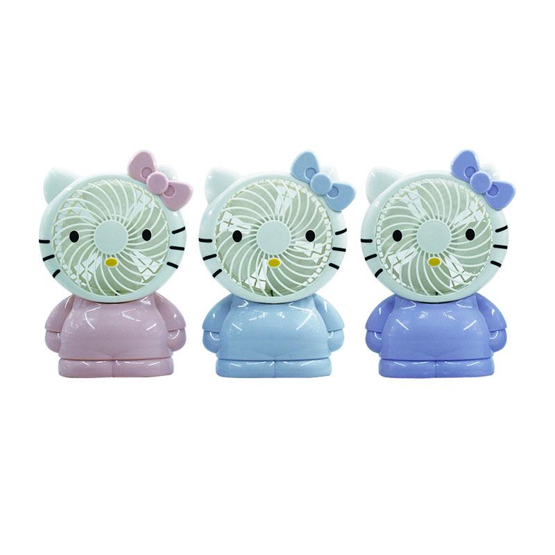 Picture of kitty mini fan