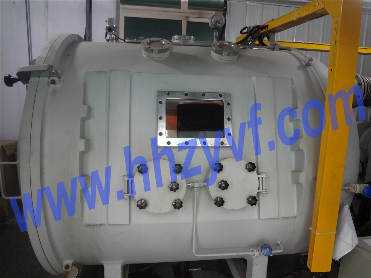 VAR series vacuum argon-charging chamber