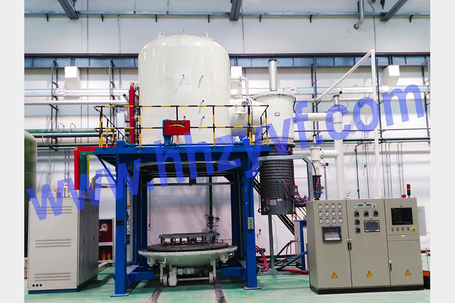 VGQV series vertical high-pressure gas quench vacuum furnace