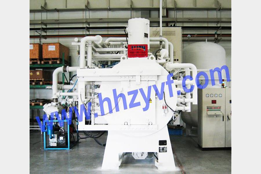 VGQ2 series 2-romm high-pressure gas quench vacuum furnace