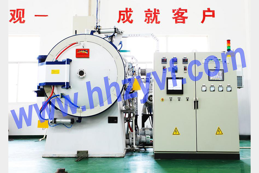VOQ2 series 2-room oil quench pressurized gas cooling vacuum furnace