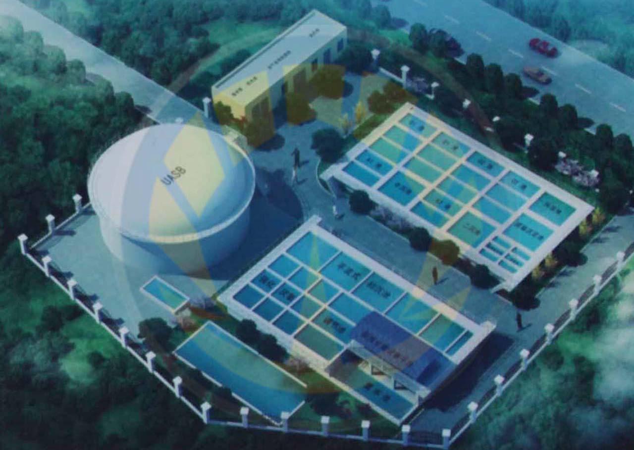 江西某市养殖废水项目