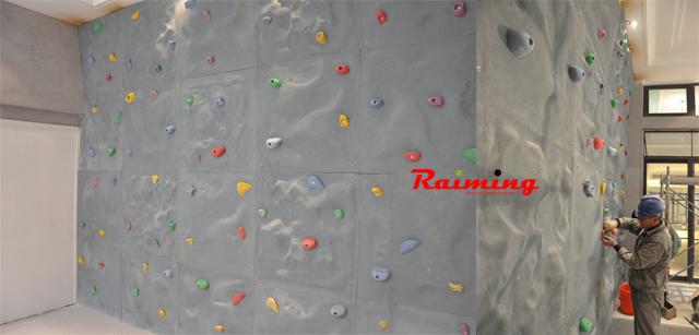 祝贺常州红星美凯龙C34别墅室内攀岩墙项目顺利完工!