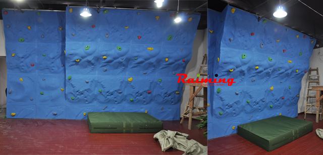 祝贺南京莱美健身俱乐部室内攀岩顺利完工!