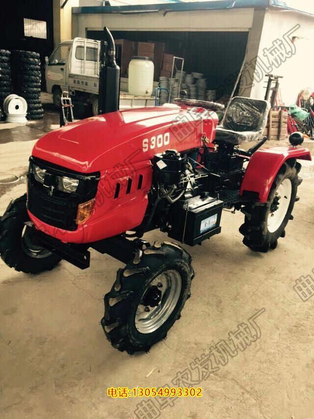 小型四轮拖拉机 偏坐四轮拖拉机 28-40马力单缸多缸发动机拖拉机