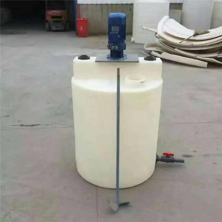 厂家直供耐酸碱耐腐蚀加厚型1吨搅拌罐 1000L搅拌罐 1立方搅拌罐品质保证
