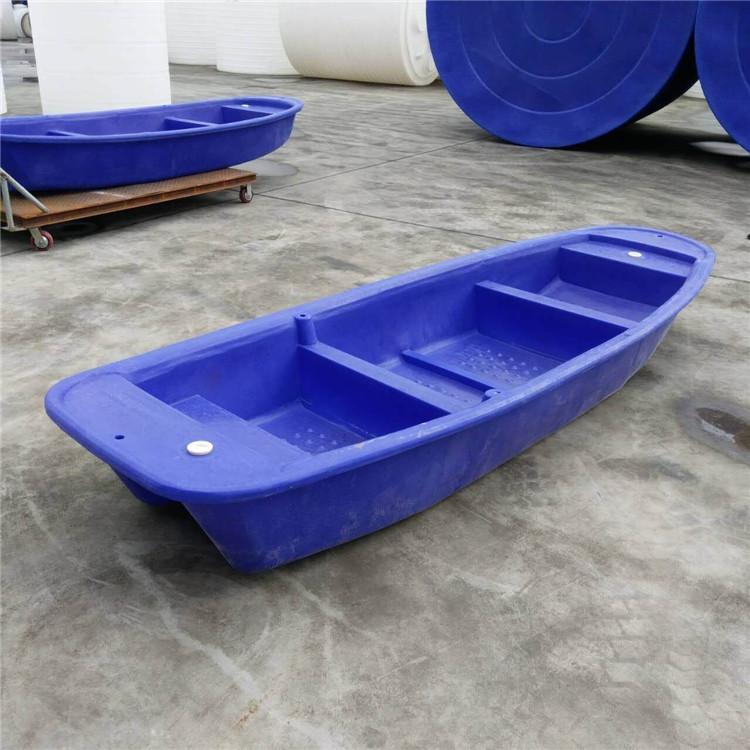 厂家直供双层一次成型河道捕鱼用塑料鱼船 塑料渔船品质保证耐撞击耐老化