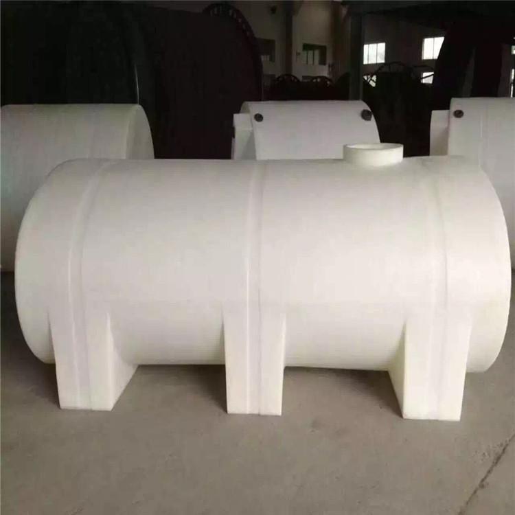 厂家直供酸碱卧式储罐方便运输 5吨塑料桶 方形储罐 卧式储槽加厚型耐腐蚀抗老化