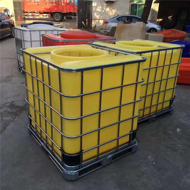 厂家直供全新一次成型1立方IBC集装桶 1吨IBC集装桶耐酸碱抗老化品质保证