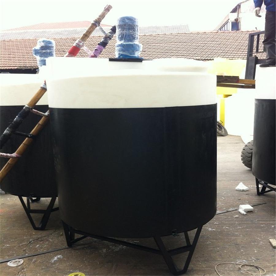 厂家直供锥形搅拌桶 锥形搅拌罐 锥形加药罐 锥形加药箱耐强酸碱耐腐蚀品质保证