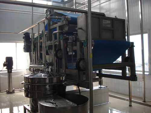 带式榨汁机