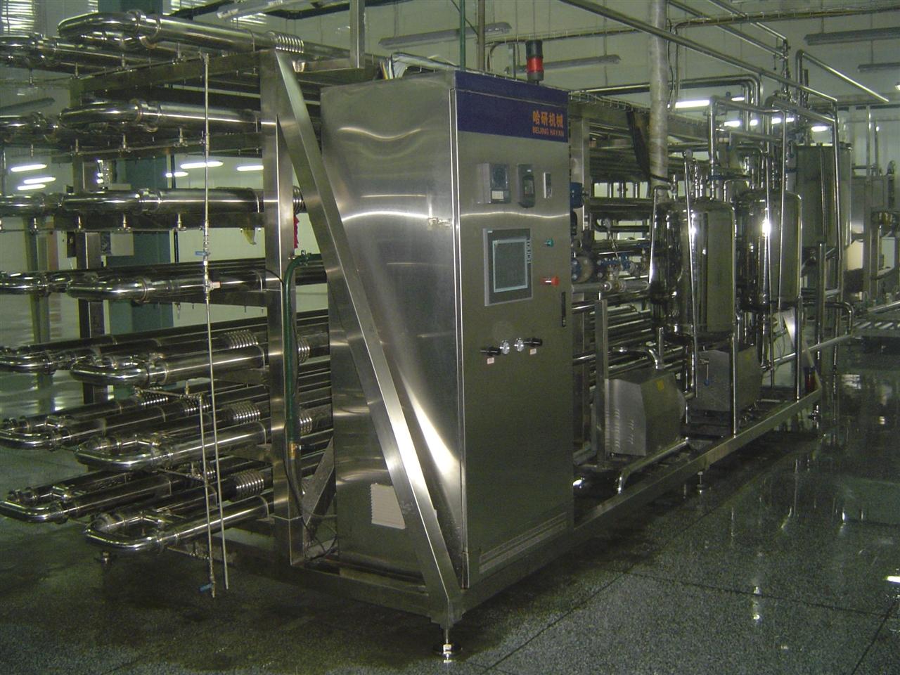 LGC8000型全自动普通列管杀菌机