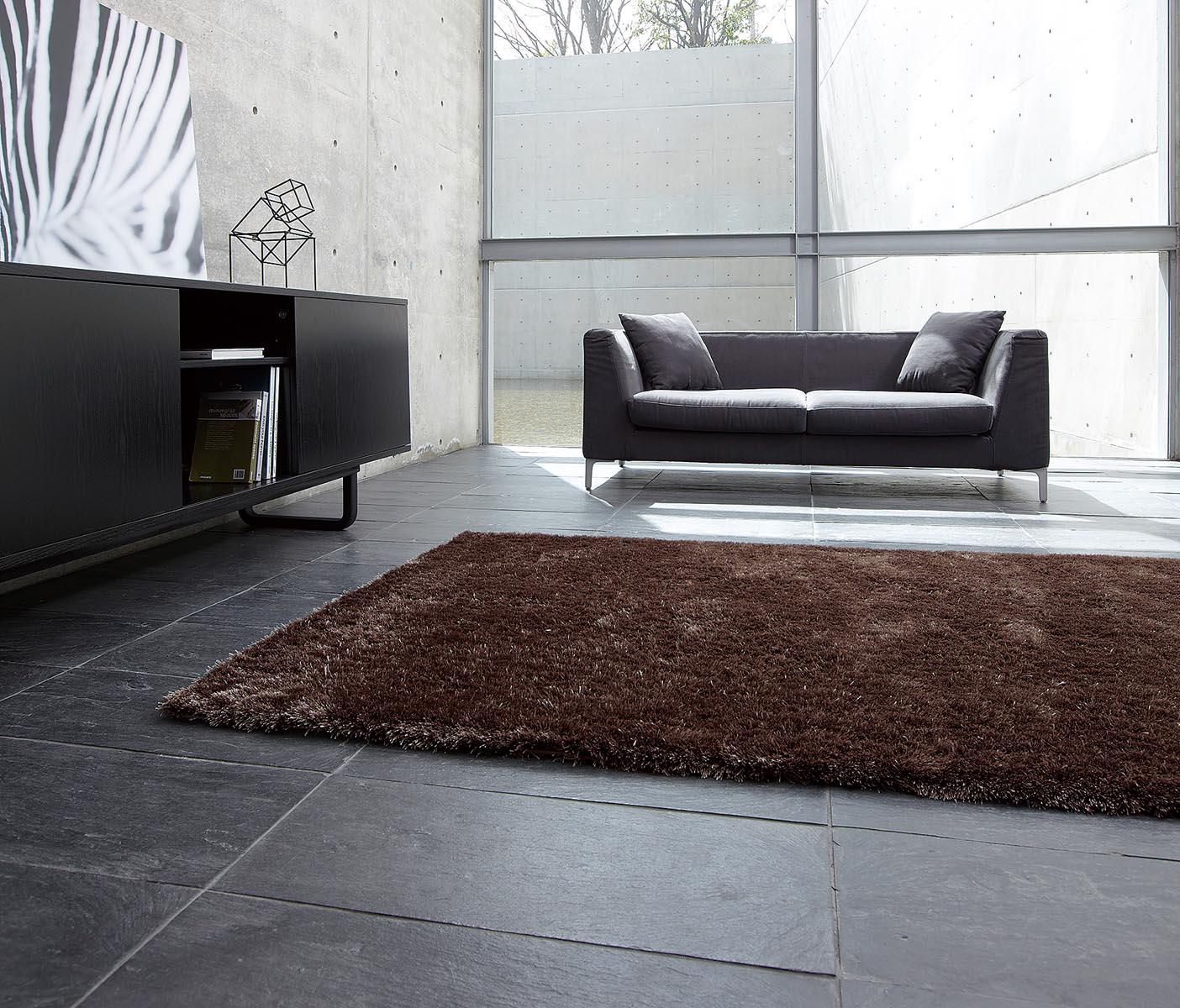 客廳地毯-深棕色