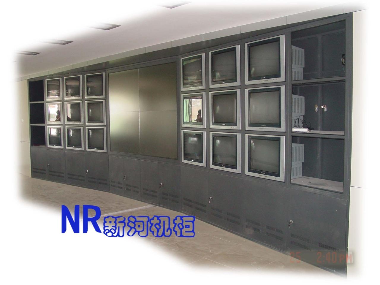 弧形电视墙