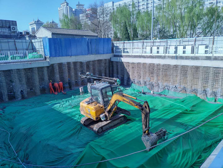 西城区受壁街市政道路及地下停车场建设工程