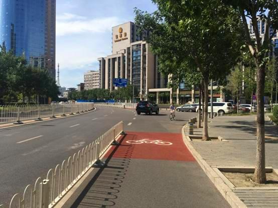 莲花河南街慢行系统改造