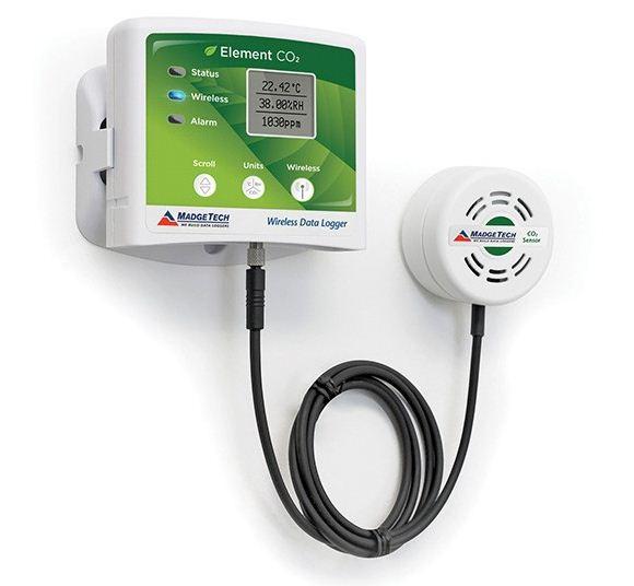 無線便攜式二氧化碳濃度記錄儀(大量程)