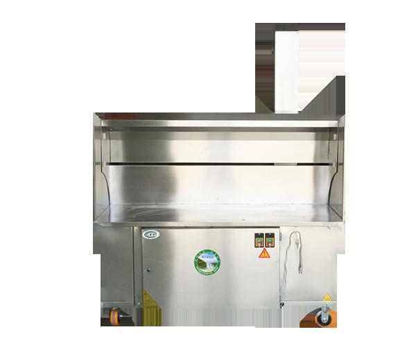 木炭无烟烧烤车1.5米